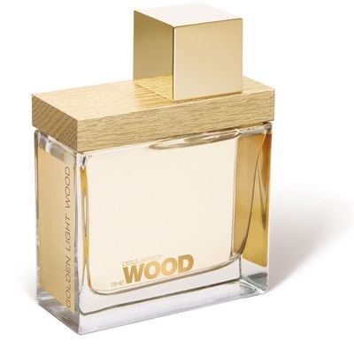 """She Wood Golden Light WoodDsquared2<br>Год выпуска: 2011 Производство: Италия Семейство: цветочные древесно-мускусные Верхние ноты:  Цитрусы, Апельсиновый цвет, Нероли Средние ноты:  Мускус, Гелиотроп Базовые ноты:  Белый кедр, Ветивер She Wood Golden Light Wood от Dsquared. В феврале 2011 года компания DSQUARED2 презентовала свою новую парфюмерную коллекцию Nature Always Wins"""", состоящую из двух, наполненных духом природы ароматов: женского She Wood Golden Light Wood и мужского He Wood Silver Wind Wood. Яркая, свежая композиция женского аромата построена на изящном сочетании цветочных и древесных нот, дополненных чувственной нотой мускуса. Wood Golden Light Wood – аромат, в сердце которого звучит музыка самой природы.<br><br>Линейка: She Wood Golden Light Wood<br>Объем мл: 1<br>Пол: Женский<br>Аромат: цветочные древесно-мускусные<br>Ноты: Цитрусы, Апельсиновый цвет, Нероли,  Мускус, Гелиотроп,  Белый кедр, Ветивер<br>Тип: отливант<br>Тестер: нет"""