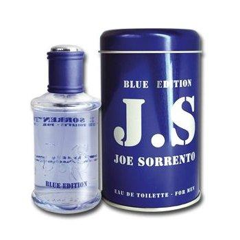 Joe Sorrento BlueJoe Sorrento<br>Производство: Франция Joe Sorrento Blue - это новый аромат, созданный для городских,требовательных мужчин.JSB определяется в трех словах:сила,смелость и современность.Дезский аромат не похож на предшественников!<br><br>Линейка: Joe Sorrento Blue<br>Объем мл: 100<br>Пол: Мужской