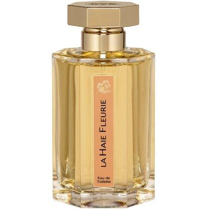 La Haie FleurieL`Artisan Parfumeur<br>Производство: Великобритания Семейство: шипровые цветочные Верхние ноты:  Жасмин, Ваниль, Апельсиновый цвет, иланг-иланг, Нарцисс, Дубовый мох, Жимолость La Haie Fleurie L Artisan Parfumeur (Цветочная изгородь от Артизан)- это аромат для женщин, принадлежит к группе ароматов шипровые цветочные. Парфюмер: Jean-Claude Ellena. Композиция аромата включает ноты: Жасмин, апельсиновый цвет, Нарцисс, иланг-иланг, дубовый мох, ваниль и Жимолость.<br><br>Линейка: La Haie Fleurie<br>Объем мл: 100<br>Пол: Женский<br>Аромат: шипровые цветочные<br>Ноты: Жасмин, Ваниль, Апельсиновый цвет, иланг-иланг, Нарцисс, Дубовый мох, Жимолость<br>Тип: туалетная вода<br>Тестер: нет