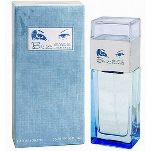 Rampage Blue EyesRampage<br>Год выпуска: 2006 Производство: Великобритания Семейство: цветочные фруктовые Верхние ноты:  Цитрусы, роза, грейпфрут, Зеленое яблоко Средние ноты:  Гелиотроп Базовые ноты:  Мускус Бездонная глубина голубых глаз обладает таинственной привлекательностью &amp;ndash; такой же необъяснимой, как чувственное очарование нового женского аромата Rampage Blue Eyes. И даже если цвет ваших глаз далек от ультрамариновых оттенков, кокетливые нотки парфюма заворожат вашего избранника, словно колдовская дымка и сердце непременно подскажет ему, что именно вы &amp;ndash; его мечта!<br><br>Линейка: Rampage Blue Eyes<br>Объем мл: 30<br>Пол: Женский<br>Аромат: цветочные фруктовые<br>Ноты: Цитрусы, роза, грейпфрут, Зеленое яблоко,  Гелиотроп,  Мускус<br>Тип: туалетная вода<br>Тестер: нет