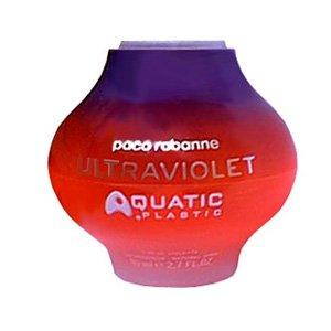 Ultraviolet Aquatic PlasticPaco Rabanne<br>Год выпуска: 2002 Производство: Франция Семейство: шипровые фруктовые Верхние ноты:  Апельсиновый цвет, стручковый перец Средние ноты:  Османтус, Пион Базовые ноты:  Мускус, Ежевика, Малина Ultraviolet Aquatic Plastic Paco Rabanne - это аромат для женщин, принадлежит к группе ароматов шипровые фруктовые. Ultraviolet Aquatic Plastic выпущен в 2002. Парфюмер: Jacques Cavallier. Верхние ноты: Апельсиновый цвет и Красный перец; ноты сердца: Пион и Османтус; ноты базы: Ежевика, Мускус и Малина.<br><br>Линейка: Ultraviolet Aquatic Plastic<br>Объем мл: 80<br>Пол: Женский<br>Аромат: шипровые фруктовые<br>Ноты: Апельсиновый цвет, стручковый перец,  Османтус, Пион,  Мускус, Ежевика, Малина<br>Тип: туалетная вода<br>Тестер: нет