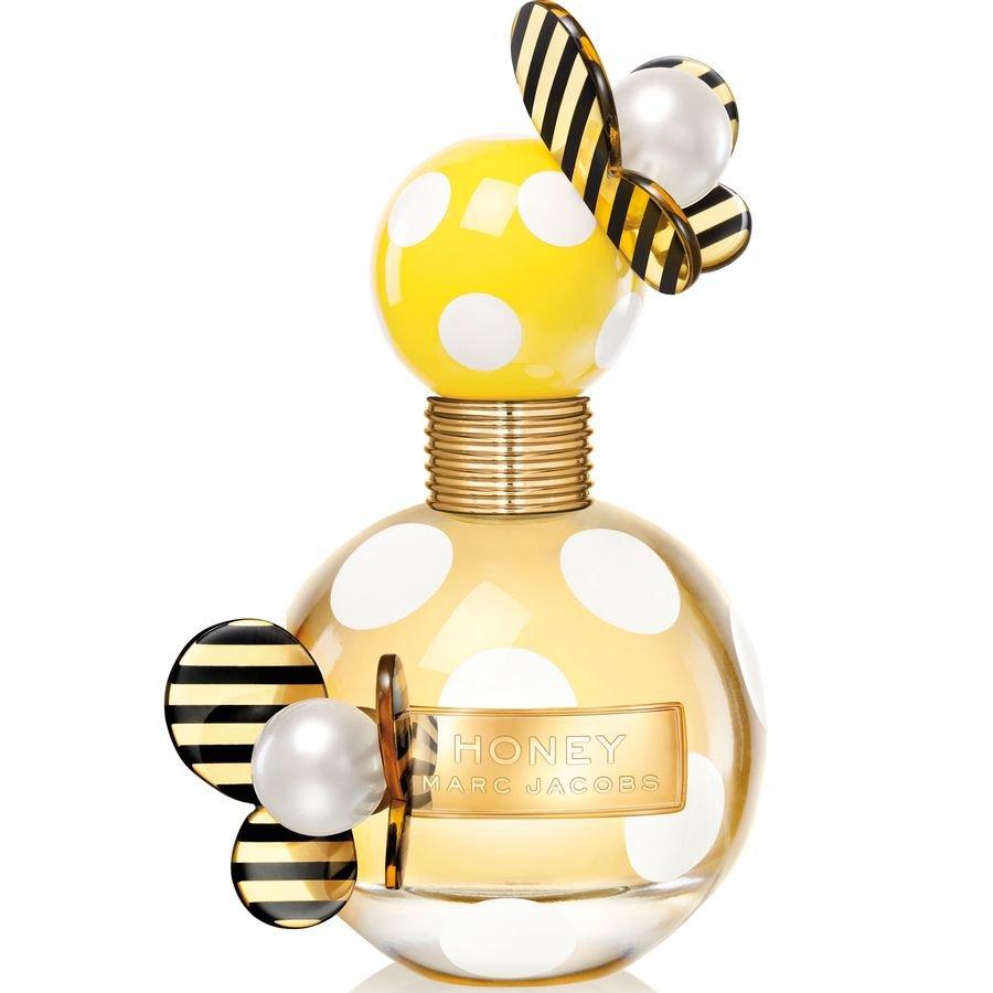 HoneyMarc Jacobs<br>Год выпуска: 2013 Производство: Франция Семейство: цветочные фруктовые Верхние ноты:  мандарин, груша, Punch Средние ноты:  Апельсиновый цвет, Персик, Жимолость Базовые ноты:  Ваниль, мед, древесные ноты Honey Marc Jacobs - это аромат для женщин, принадлежит к группе ароматов цветочные фруктовые. Это новый аромат, Honey выпущен в 2013. Honey был создан Annie Buzantian и Ann Gottlieb. Верхние ноты: груша, мандарин и punch; ноты сердца: Жимолость, Апельсиновый цвет и Персик; ноты базы: мед, Ваниль и древесные ноты.<br><br>Линейка: Honey<br>Объем мл: 100<br>Пол: Женский<br>Аромат: цветочные фруктовые<br>Ноты: мандарин, груша, Punch,  Апельсиновый цвет, Персик, Жимолость,  Ваниль, мед, древесные ноты<br>Тип: парфюмерная вода-тестер<br>Тестер: да