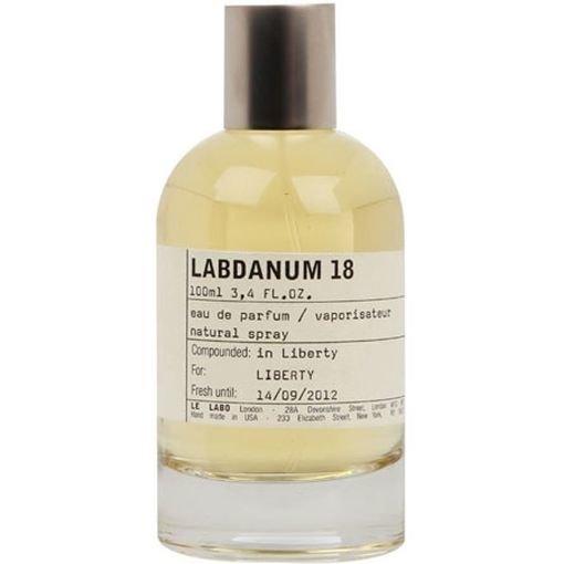 Labdanum 18Le Labo<br>Год выпуска: 2006 Производство: США Семейство: восточные Верхние ноты:  пачули, Мускус, Циветта, Ваниль, Тонка бобы, Корица, Лабданум, Cмолы, Береза, Гурьян бальзам Labdanum 18 Le Labo - это аромат для мужчин и женщин, принадлежит к группе ароматов восточные. Labdanum 18 выпущен в 2006. Композиция аромата включает ноты: французский лабданум, Касториум, Циветта, Мускус, Ваниль, Береза, cмолы, Корица, пачули, Гурьян бальзам и Тонка бобы.<br><br>Линейка: Labdanum 18<br>Объем мл: 100<br>Пол: Унисекс<br>Аромат: восточные<br>Ноты: пачули, Мускус, Циветта, Ваниль, Тонка бобы, Корица, Лабданум, Cмолы, Береза, Гурьян бальзам<br>Тип: парфюмерная вода<br>Тестер: нет