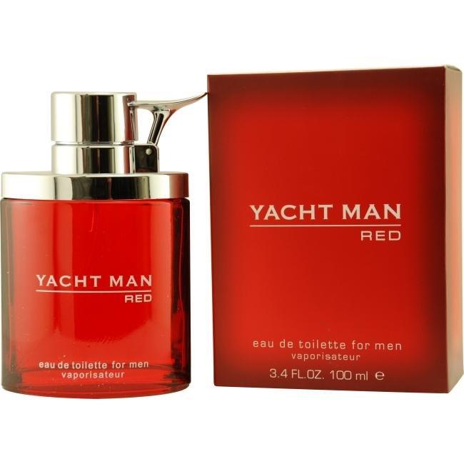 Yacht Man RedYacht Man<br>Производство: США Семейство: фужерные Yacht Man Red для сильного, смелого и решительного мужчины, готового к любым приключениям. Аромат заряжает энергией, будит эмоции, притягивает своей непосредственностью и свежестью. Это новые ощущения и смелый взгляд на жизнь с ее непредсказуемостью.<br><br>Линейка: Yacht Man Red<br>Объем мл: 100<br>Пол: Мужской<br>Аромат: фужерные