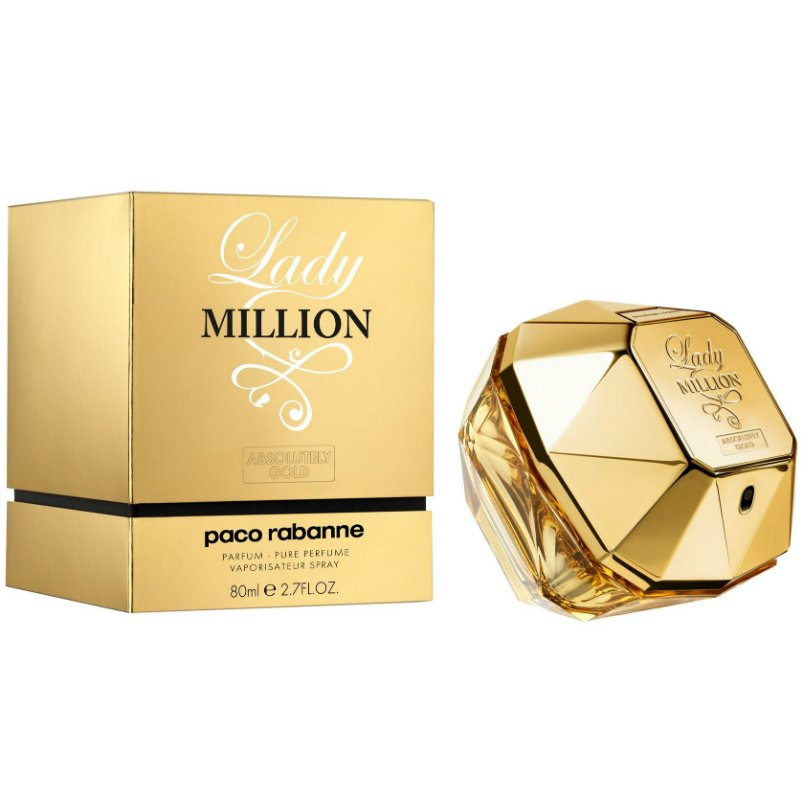 Lady Million Absolutely Gold Lady Million Absolutely Gold 80 мл тестер (жен)