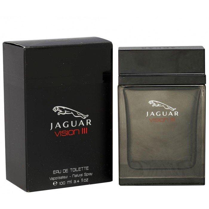 Vision 3Jaguar<br>Производство: США Vision 3 от Jaguar (&amp;laquo;Вижн 3 от Ягуар&amp;raquo;) &amp;ndash; это мужская парфюмерная композиция, которая была разработана французским парфюмером, Dominique Preyssas. Парфюм включен в группу древесных, в подгруппу восточных ароматов. Композиция олицетворяет новое выражение всех самых лучших качеств современного мужчины. Верхние ноты Vision 3 от Jaguar представлены ананасом, лимоном, бергамотом и кардамоном. Ноты сердца формируют жасмин и морской аккорд. Завершающий шлейф состоит из мускуса, бобов Тонка, сандалового дерева, пачули, ванили и кедра.<br><br>Линейка: Vision 3<br>Объем мл: 100<br>Пол: Мужской