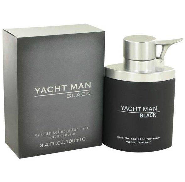 Yacht Man Black Yacht Man Black 100 мл (муж)