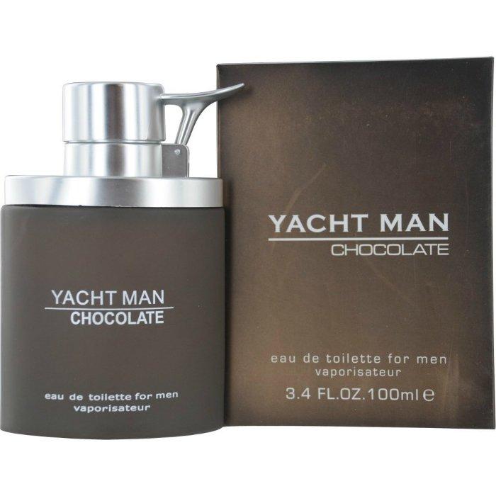 Yacht Man ChocolateYacht Man<br>Производство: США Семейство: восточные фужерные Верхние ноты:  Ирис, пачули, Ветивер, роза, Мускус, темный шоколод, Корица, мускатный орех, Гвоздика, Какао Yacht Man Chocolate Myrurgia - это аромат для мужчин, принадлежит к группе ароматов восточные фужерные. Композиция аромата включает ноты: Корица, Темный шоколад, Мускус, роза, Ирис, Ветивер, пачули, Какао, Гвоздика и мускатный орех.<br><br>Линейка: Yacht Man Chocolate<br>Объем мл: 100<br>Пол: Мужской<br>Аромат: восточные фужерные<br>Ноты: Ирис, пачули, Ветивер, роза, Мускус, темный шоколод, Корица, мускатный орех, Гвоздика, Какао<br>Тип: туалетная вода<br>Тестер: нет