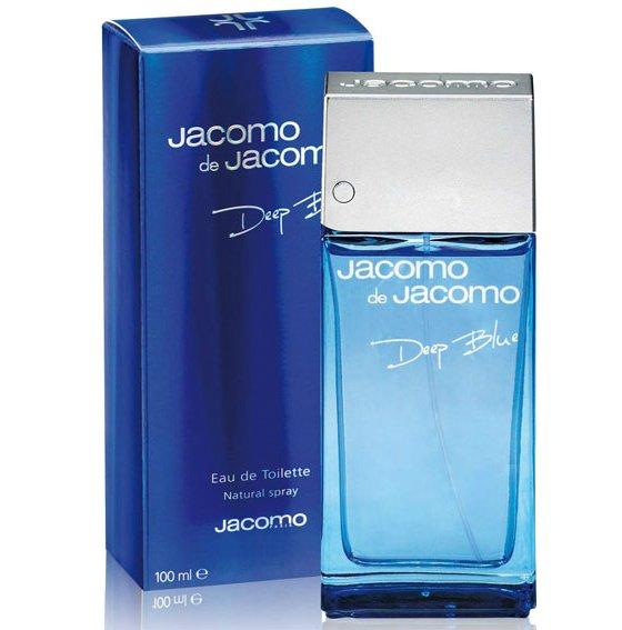 Jacomo de Jacomo Deep BlueJacomo<br>Год выпуска: 2008 Производство: Франция Семейство: древесные пряные Верхние ноты:  мандарин, Бергамот, Цитрусы, Фиалка Средние ноты:  Кориандр, масло перца, Герань, Лаванда Базовые ноты:  Белый кедр, кожа, Мускус Jacomo de Jacomo Deep Blue Jacomo - это аромат для мужчин, принадлежит к группе ароматов древесные пряные. Jacomo de Jacomo Deep Blue выпущен в 2008. Верхние ноты: Бергамот, мандарин, Цитрусы и Фиалка; ноты сердца: Лаванда, Перец, Кориандр и Герань; ноты базы: Белый кедр, кожа и Мускус.<br><br>Линейка: Jacomo de Jacomo Deep Blue<br>Объем мл: 100<br>Пол: Мужской<br>Аромат: древесные пряные<br>Ноты: мандарин, Бергамот, Цитрусы, Фиалка,  Кориандр, масло перца, Герань, Лаванда,  Белый кедр, кожа, Мускус<br>Тип: туалетная вода<br>Тестер: нет
