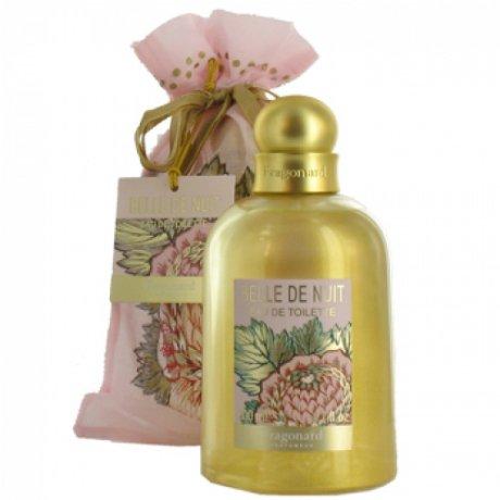 Belle de NuitFragonard<br>Год выпуска: 2001 Производство: Великобритания Семейство: восточные цветочные Верхние ноты:  роза, Мускус, слива, Фиалка, Герань Belle de Nuit Fragonard - это аромат для женщин, принадлежит к группе ароматов восточные цветочные. Belle de Nuit выпущен в 2001. Композиция аромата включает ноты: слива, Мускус, Фиалка, роза и Герань.<br><br>Линейка: Belle de Nuit<br>Объем мл: 30<br>Пол: Женский<br>Аромат: восточные цветочные<br>Ноты: роза, Мускус, слива, Фиалка, Герань<br>Тип: духи<br>Тестер: нет