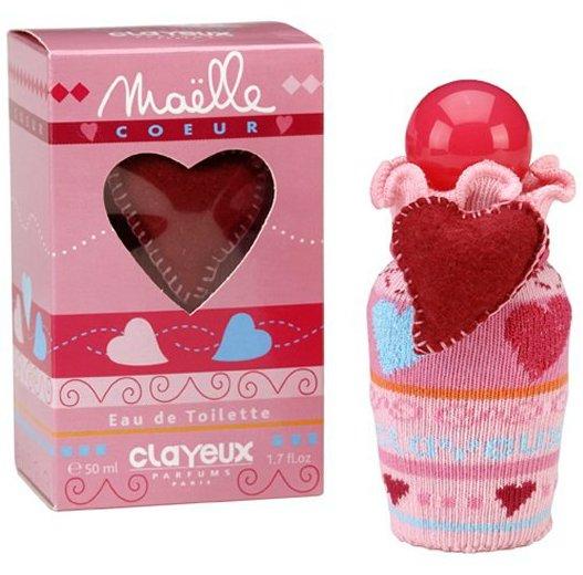 Maelle CoeurClayeux<br>Производство: США Clayeux Maelle Coeur - это романтичный, терпко-сладкий, парфюм для девочек, с нотками цитрусовых, ландыша, розы, амбры, моря и мускуса.<br><br>Линейка: Maelle Coeur<br>Объем мл: 100<br>Пол: Женский