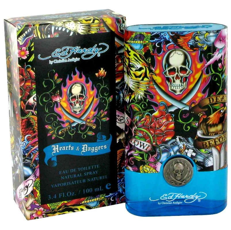Christian Audigier Ed Hardy Hearts  Daggers for Him 100 мл тестер (муж)