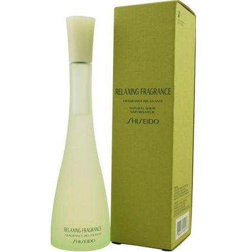 Relaxing FragranceShiseido<br>Год выпуска: 1997 Производство: Франция Семейство: цветочные зеленые Верхние ноты:  роза, Лист и бутон черной смородины, Малина, Бамбук, Артемизия, Огурец Средние ноты:  Гардения, Пион, кардамон Relaxing Fragrance Shiseido - это аромат для женщин, принадлежит к группе ароматов цветочные зеленые. Relaxing Fragrance выпущен в 1997. Верхние ноты: Артемизия, Чайная роза, Лист и бутон черной смородины, Малина, Огурец и Бамбук; ноты сердца: Пион, Гардения и кардамон;<br><br>Линейка: Relaxing Fragrance<br>Объем мл: 100<br>Пол: Женский<br>Аромат: цветочные зеленые<br>Ноты: роза, Лист и бутон черной смородины, Малина, Бамбук, Артемизия, Огурец,  Гардения, Пион, кардамон<br>Тип: парфюмерная вода<br>Тестер: нет
