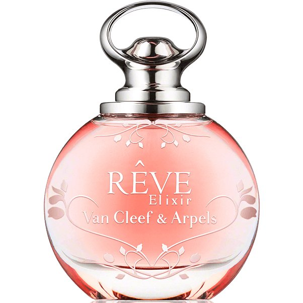 Reve ElixirVan Cleef &amp; Arpels<br>Производство: Франция Семейство: цветочные фруктовые Верхние ноты:  груша, цветы персика, Нероли Средние ноты:  Ирис, Османтус, Белая лилия, франгипани Базовые ноты:  Белый кедр, Сандаловое дерево,  Амбра В апреле 2014 на рынок вышла новая, более чувственная версия оригинального аромата - Reve Elixir. Композиция новинки разработана парфюмером Nathalie Feisthauer как цветочно-фруктовая с древесной базой. Верхние ноты включают грушу, нероли и цветок персика. Сердце аромата создано из экзотических цветов франжипани, османтуса, ириса и лилии, а база представлена комбинацией амбры, сандала и кедра.<br><br>Линейка: Reve Elixir<br>Объем мл: 1<br>Пол: Женский<br>Аромат: цветочные фруктовые<br>Ноты: груша, цветы персика, Нероли,  Ирис, Османтус, Белая лилия, франгипани,  Белый кедр, Сандаловое дерево,  Амбра<br>Тип: отливант<br>Тестер: нет