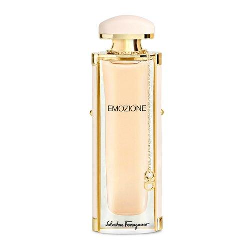 EmozioneSalvatore Ferragamo<br>Производство: Италия Семейство: шипровые цветочные Верхние ноты:  Бергамот, Ирис, Персик Средние ноты:  роза, Гелиотроп, Пион Базовые ноты:  пачули, Мускус, Кожа Salvatore Ferragamo запускает новый аромат для женщин под названием Emozione. Новинка появилась на рынке в феврале 2015 года. Emozione анонсируется как чрезвычайно женственный аромат, классический, современный и элегантный. Композиция заявлена как шипрово-цветочная с древесными оттенками. Аромат призван символизировать эмоции и удовольствия, которые дарит нам жизнь. Emozione открывается сияющими цитрусовыми нотами бергамота в сопровождении нежного пудрового ириса и мягкого, бархатистого персика. Сердце композиции сплетено из нежных и женственных цветочных аккордов пиона, болгарской розы и гелиотропа. Завершает образ теплая база из пачули, замши и белого мускуса.<br><br>Линейка: Emozione<br>Объем мл: 30<br>Пол: Женский<br>Аромат: шипровые цветочные<br>Ноты: Бергамот, Ирис, Персик,  роза, Гелиотроп, Пион,  пачули, Мускус, Кожа<br>Тип: парфюмерная вода<br>Тестер: нет