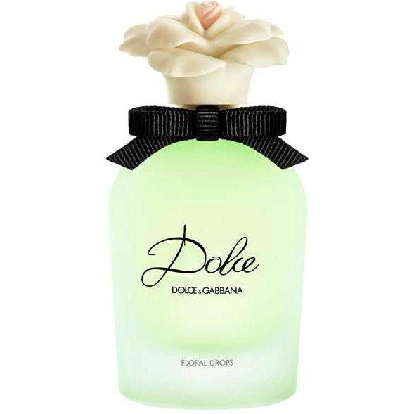 Dolce Floral DropsDolce And Gabbana<br>Год выпуска: 2015 Производство: Великобритания Семейство: цветочные Верхние ноты:  Персик, Нероли, Зеленое яблоко, цветок папайя Средние ноты:  Нарцисс, Водяная лилия, Амариллис Базовые ноты:  Сандаловое дерево, Мускус, Кашемировое дерево Dolce Floral Drops Dolce&amp;amp;Gabbana - это аромат для женщин, принадлежит к группе ароматов цветочные. Это новый аромат, Dolce Floral Drops выпущен в 2015. Верхние ноты: Нероли и цветок папайя; ноты сердца: Водяная лилия, Амариллис и Нарцисс; ноты базы: Кашемировое дерево, Сандаловое дерево и Мускус.<br><br>Линейка: Dolce Floral Drops<br>Объем мл: 75<br>Пол: Женский<br>Аромат: цветочные<br>Ноты: Персик, Нероли, Зеленое яблоко, цветок папайя,  Нарцисс, Водяная лилия, Амариллис,  Сандаловое дерево, Мускус, Кашемировое дерево<br>Тип: туалетная вода<br>Тестер: нет