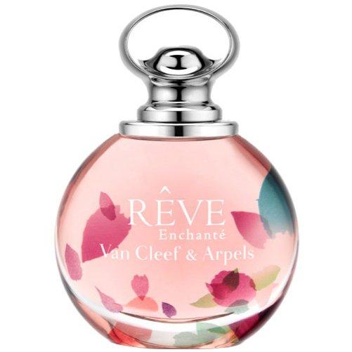 Reve EnchanteVan Cleef &amp; Arpels<br>Год выпуска: 2015 Производство: Франция Семейство: цветочные фруктовые Верхние ноты:  груша, Нероли, Клементин Средние ноты:  Жасмин, цветы персика Базовые ноты:   Амбра Reve Enchante Van Cleef &amp;amp; Arpels - это аромат для женщин, принадлежит к группе ароматов цветочные фруктовые. Это новый аромат, Reve Enchante выпущен в 2015. Парфюмер: Emilie (Bevierre) Coppermann. Верхние ноты: груша, Клементин и Нероли; ноты сердца: цветы персика и Жасмин; базовая нота: Белая амбра.<br><br>Линейка: Reve Enchante<br>Объем мл: 50<br>Пол: Женский<br>Аромат: цветочные фруктовые<br>Ноты: груша, Нероли, Клементин,  Жасмин, цветы персика,   Амбра<br>Тип: парфюмерная вода<br>Тестер: нет