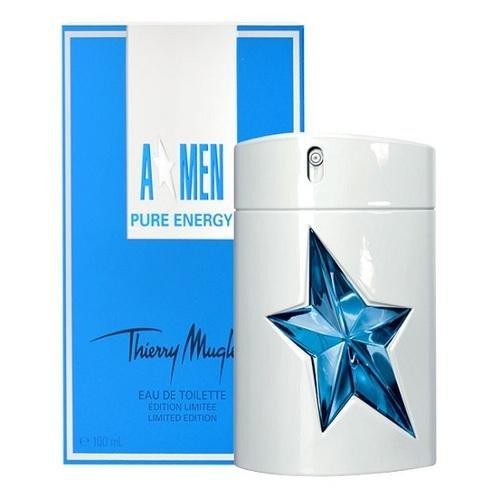 A*Men Pure EnergyThierry Mugler<br>Год выпуска: 2013 Производство: Франция Семейство: древесные пряные Верхние ноты:  Мята, Плоды можжевельника Средние ноты:  масло перца, кардамон Базовые ноты:  пачули, секвойя &amp;nbsp;A*Men Pure Energy Thierry Mugler - это аромат для мужчин, принадлежит к группе ароматов древесные пряные. Это новый аромат, A*Men Pure Energy выпущен в 2013. Верхние ноты: Мята и Плоды можжевельника; ноты сердца: кардамон и Белый перец; ноты базы: пачули и секвойя.&amp;nbsp;<br><br>Линейка: A*Men Pure Energy<br>Объем мл: 100<br>Пол: Мужской<br>Аромат: древесные пряные<br>Ноты: Мята, Плоды можжевельника,  масло перца, кардамон,  пачули, секвойя<br>Тип: туалетная вода<br>Тестер: нет