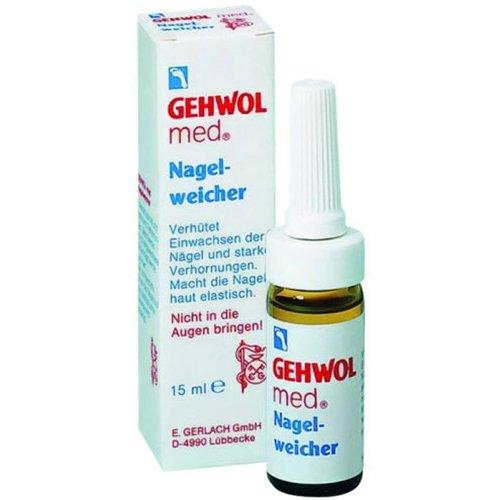 Med Nagel-WeicherGehwol<br>Производство: Германия Смягчающая жидкость для ногтей (Med Nagel-Weicher) Предотвращает сильное ороговение и сохраняет мягкость и эластичность ногтей на долгое время. Околоногтевая зона кожи становится мягкой и податливой. Применение смягчающей жидкости позволяет эффективно препятствовать процессу врастания ногтей. Твердые ногти и загрубевшая кожа ногтевого валика будут смягчены, а неприятное и зачастую болезненное давление врастающего ногтя на мягкие ткани исчезнет. С жидкостью от Геволь последующий уход за ногтями станет гораздо более комфортным и безболезненным, ведь даже сухая и повреждённая кожа смягчившись, становится эластичной и легко удаляется. Применение:&amp;nbsp; Наносите жидкость на пораженные участки ежедневно, не больше 1-2 раз в день. Но не следует наносить косметическое средство на воспаленные и поврежденные участки кожи, дабы избежать повреждений. Не используйте смягчающую жидкость на тонкие и слоящиеся ноги.<br><br>Линейка: Med Nagel-Weicher<br>Объем мл: 15<br>Пол: Унисекс