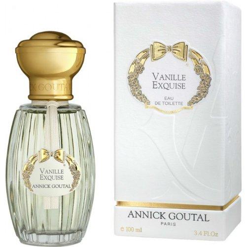 Vanille ExquiseAnnick Goutal<br>Производство: Франция Vanille Exquise Annick Goutal - это аромат для женщин, принадлежит к группе ароматов восточные гурманские. Этот аромат выпущен в 2004 году. Композиция аромата включает ноты: Ангелика, Миндаль, Ваниль, Мускус, Сандаловое дерево и Дерево Гуаяк.<br><br>Линейка: Vanille Exquise<br>Объем мл: 100<br>Пол: Женский
