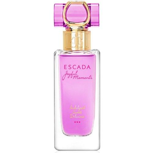 Joyful MomentsEscada<br>Производство: Великобритания Joyful Moments Escada - это аромат для женщин, принадлежит к группе ароматов цветочные фруктовые. Этот аромат выпущен в 2015 году. Верхние ноты: черная смородина, Личи и мандарин; ноты сердца: Лист фиалки, Дамасская роза и Розовый пион; ноты базы: мед и Ваниль.<br><br>Линейка: Joyful Moments<br>Объем мл: 75<br>Пол: Женский