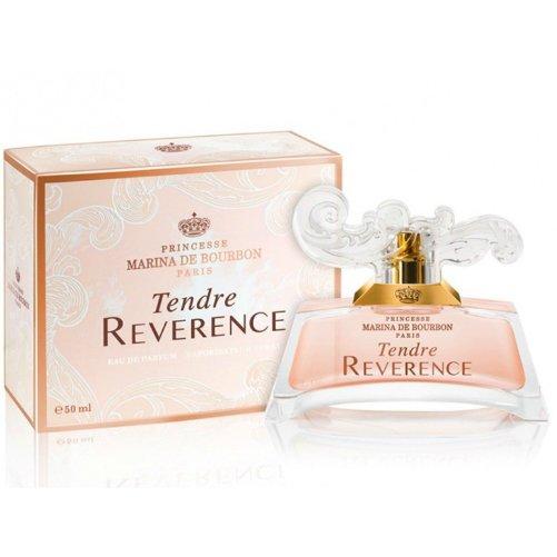 Tendre ReverenceMarina de Bourbon<br>Производство: Франция Tendre Reverence был вдохновлен атмосферой Версаля, во дворцах которого жили настоящие принцессы, кипели нешуточные страсти и творилась история. Аромат воплощает собой образ прекрасной и элегантной принцессы, символизирует ее мечты, надежды и воспоминания. Цветочно-фруктовая композиция открывается нежной комбинацией но бергамота, смородины и персика. Сердце аромата дарит пышный цветочный букет из розовых пионов, магнолии и замороженных фиалок. База включает мускус, сандал и ваниль. Этот аромат выпущен в 2014 году.<br><br>Линейка: Tendre Reverence<br>Объем мл: 30<br>Пол: Женский