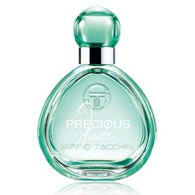 Precious JadeSergio Tacchini<br>Производство: Италия Precious Jade Sergio Tacchini - это аромат для женщин, принадлежит к группе ароматов цветочные зеленые. Этот аромат выпущен в 2015 году. Верхние ноты: Бергамот, груша и Персик; ноты сердца: роза, Жасмин и Дыня; ноты базы: Белый кедр, Мускус и Ваниль.<br><br>Линейка: Precious Jade<br>Объем мл: 50<br>Пол: Женский