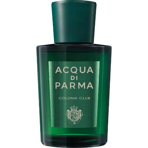 Colonia ClubAcqua Di Parma<br>Производство: Италия Colonia Club Acqua di Parma - это аромат для мужчин и женщин, принадлежит к группе ароматов древесные фужерные. Этот аромат выпущен в 2015 году. Верхние ноты: Бергамот, Цитрусы, Петит-грейн, мандарин, Мята и Нероли; ноты сердца: Герань, Лаванда и Гальбанум; ноты базы: Серая амбра, Мускус и ветивер с Таити.<br><br>Линейка: Colonia Club<br>Объем мл: 100<br>Пол: Унисекс