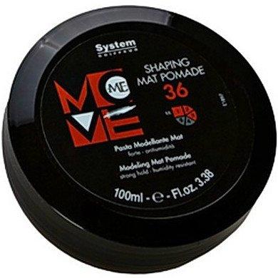 Move Me 36 Shaping Mat PomadeDikson<br>Производство: Италия Матовая паста для моделирования волос. Это средство позволяет создавать различные формы и стили в укладках. Является завершающим этапом в создании прически. Рекомендуется как для мужских, так и для женских причесок. Уменьшает пушистость и снимает статическое электричество. Применение: Нанести необходимое количество средства на кончики пальцев и придать волосам желаемую форму.<br><br>Линейка: Move Me 36 Shaping Mat Pomade<br>Объем мл: 100<br>Пол: Женский