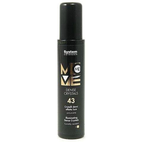 Move Me 43 Dense CrystalsDikson<br>Производство: Италия Термозащитная сыворотка Танцующие кристалы для укладки волос. Это средство предназначено для термозащиты волос, создает эффект великолепного сияния, влагоустойчивое. Сыворотка создает на волосах ослепительное сияние и защищает от UV - лучей. Обеспечивает термозащиту. Экстракт ромашки придает волосам живой блеск и эластичность, улучшает процесс расчесывания, предотвращает появление секущихся кончиков. Укрепляет каждый волосок, обволакивает его невидимой защитной мембраной, наполняет переливающимся блеском, придает мягкость и шелковистость. Подчеркивает текстуру коротких и удлиненных стрижек. Применение: Равномерно распылить сыворотку на вымытые и подсушенные полотенцем волосы. Не смывать. Перейти к обычной укладке волос.<br><br>Линейка: Move Me 43 Dense Crystals<br>Объем мл: 100<br>Пол: Женский