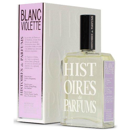 Blanc VioletteHistoires de Parfums<br>Производство: Великобритания Histories de Parfums Blanc Violette – это духи любви, соблазна, искушения. Современный аромат пользуется популярностью среди женщин. Оригинальный флакон гармонично сочетает цветочные ноты и зеленые аккорды, раскрывая роскошь композиции. Парфюм одаривает свежестью ириса и фиалки, которая благоухает в окружении чувственного бергамота.<br>Парфюмерная композиция Хистори де Парфюм Бланк Виолет обладает изысканным, насыщенным ароматом, сочетающим страсть и мягкость. Роскошный шлейф оставляет за собой незабываемый след, сотканный из сандала и пудровых нот.<br><br>Линейка: Blanc Violette<br>Объем мл: 60<br>Пол: Женский