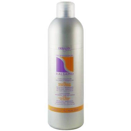 Professional BalsamDikson<br>Производство: Италия Профессиональный бальзам для волос. Это косметическое средство, которое прекрасно сочетается с шампунями серии One&amp;rsquo;s и рекомендован для ухода за волосами всех типов. В основе бальзама лежит такой активный компонент, как вытяжка масла манго. Бальзам обеспечивает волосам питание и увлажнение, восстанавливает целостность гидролипидного слоя. Бальзам великолепно подойдет для непослушных и сухих волос. Одним из основных компонентов бальзама является масло манго, которое глубоко питает волосы, способствует восстановлению целостности гидролипидной пленки, защищающей волос от обезвоживания. Применение: После использования шампуня нанесите необходимое количество бальзама на влажные волосы. Немного помассируйте, затем смойте теплой водой.<br><br>Линейка: Professional Balsam<br>Объем мл: 1000<br>Пол: Женский