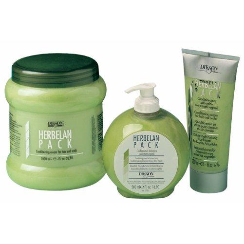 Herbelan PackDikson<br>Производство: Италия Растительный бальзам для волос. Это средство по праву можно считать самым эффективным из линейки Dikson. Травяная кислота, которая лежит в основе бальзама, способствует нейтрализации вялотекущего окисления, наступающего вследствие химических обработок, в том числе и осветления. Рекомендовано к применению в качестве основного средства для ухода за осветленными и окрашенными волосами. Травяная кислота позволяет окрашенным волосам сохранять свой блеск. Подходит волос для всех типов. Эфирные масла мальвы и ромашки обеспечивают противовоспалительный и успокаивающий эффект. Ментол оказывает дезинфицирующее и оживляющее действие, охлаждает кожу головы, активизирует ее кровоснабжение. Применение: Вымыв волосы шампунем, слегка промокнуть их полотенцем, после чего нанести бальзампо всей длине. Для равномерного распределения массировать мягкими движениями. Оставить впитываться на 5-6 минут, а затем тщательно промыть. Далее расчесать и высушить. Внимание: Бальзамнельзя применять сразу же после окрашивания. Минералы и жирные кислоты, которые содержатся в нем, могут впитать в себя пигменты краски.<br><br>Линейка: Herbelan Pack<br>Объем мл: 200<br>Пол: Женский