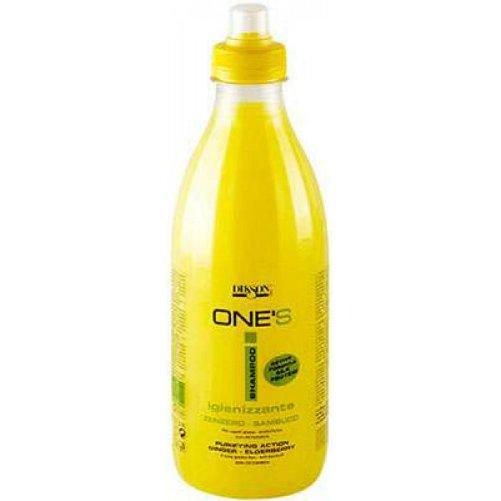One`s Shampoo IginizzanteDikson<br>Производство: Италия Балансирующий шампунь с октопероксом для жирных волос и против перхоти, имбирь-бузина. Это средство поможет эффективно справиться с проблемами возникновения перхоти. Жирные волосы особо склонны к появлению перхоти, им необходимы дополнительные защита и очищение. Активный компонент октопирокс оказывает цитостатическое действие, это способствует снятию зуда и раздражения кожи головы. Экстракты бузины и имбиря имеют антибактериальное действие, препятствуют повторному появлению всех видов перхоти. Применение: Волосы намочить водой, нанести шампунь , вспенить, смыть водой.<br><br>Линейка: One`s Shampoo Iginizzante<br>Объем мл: 1000<br>Пол: Женский