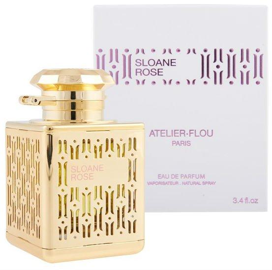 Sloane RoseAtelier Flou<br>Производство: Франция &amp;nbsp;Sloane Rose Atelier Flou - это аромат для женщин, принадлежит к группе ароматов цветочные. Верхние ноты: Жасмин, Лист фиалки и апельсин; нота сердца: роза; ноты базы: Белый кедр и Серая амбра.<br><br>Линейка: Sloane Rose<br>Объем мл: 100<br>Пол: Женский