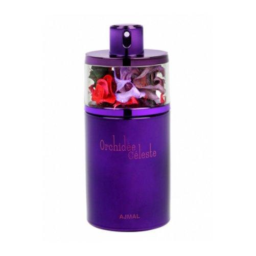 Orchidee CelesteAjmal<br>Производство: Объединённые Арабские Эмираты Orchidee Celeste от Ajmal - это аромат для женщин, принадлежит к группе ароматов цветочные. Этот аромат выпущен в 2015 году. Парфюмер: Nazir Ajmal. Композиция аромата включает ноты: Орхидея, роза и Ваниль.&amp;nbsp;&amp;nbsp;<br><br>Линейка: Orchidee Celeste<br>Объем мл: 75<br>Пол: Женский