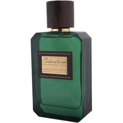 CedarstormPanouge<br>Производство: Франция &amp;nbsp;Cedarstorm Panouge - это аромат для мужчин, принадлежит к группе ароматов древесные пряные. Этот аромат выпущен в 2013 году. Верхние ноты: черный перец и Бергамот; ноты сердца: Гвоздика, мускатный орех и Белый кедр; ноты базы: Сандаловое дерево, Серая амбра и олибанум. &amp;nbsp;<br><br>Линейка: Cedarstorm<br>Объем мл: 100<br>Пол: Мужской