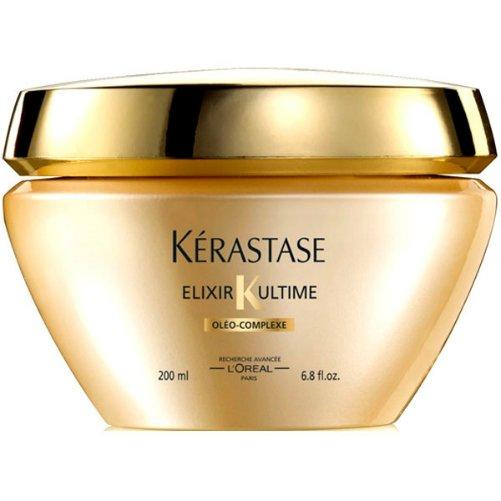Elixir Ultime Beautifying Oil MasqueKerastase<br>Производство: Франция Семейство: восточные &amp;nbsp;Маска для волос с натуральными маслами для всех типов волос. Это средство, обогащенное драгоценными маслами, обеспечивает питательный уход. Кремовая текстура и чувственный аромат делают волосы мягкими и благоухающими. Волосы полностью восстанавливаются и получают глубокое питание. Подходит для всех типов волос. В результате маска питает волосы и усиливает их сияние, делает волосы легкими и послушными, обеспечивает блеск, мягкость и защиту и помогает восстановить структуру. Применение: небольшое количество маски массажными движениями распределить по всей длине вымытых волос. Через 5-10 минут смыть водой.&amp;nbsp;<br><br>Линейка: Elixir Ultime Beautifying Oil Masque<br>Объем мл: 200<br>Пол: Женский<br>Аромат: восточные