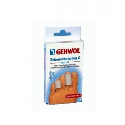 Toe Protection Ring GGehwol<br>Производство: Германия Семейство: восточные &amp;nbsp;&amp;nbsp;Эластичное полимерногелевое кольцо предназначено для равномерного распределения нагрузки, которую оказывает давление обуви на мозоли и натоптыши. Гель-кольцо G сразу же принимают форму пальцев. Материал, из которого изготовлено кольцо, не содержит никаких вредных отдушек и веществ, они легко моются в проточной воде. Внимание: Гель-кольцо G не применяется на открытых ранах и участках с воспалениями.&amp;nbsp;&amp;nbsp;<br><br>Линейка: Toe Protection Ring G<br>Объем мл: 2 большие (шт 36 мм)<br>Пол: Унисекс<br>Аромат: восточные