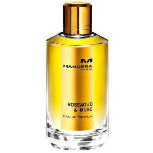RoseAoud &amp; MuscMancera<br>Год выпуска: 2011 Производство: Франция Семейство: древесные цветочные мускусные Верхние ноты:  Специи Средние ноты:  Жасмин, роза, Индийский шафран Базовые ноты:  Сандаловое дерево, Мускус, дерево Агар RoseAoud &amp; Musc - это просто шикарная, обладающая чувственно-проникновенной аурой, согревающей даже в самый лютый мороз, новинка-унисекс, 2011 года, где основное место в композиции отдано ноткам нежнейшей розы, редчайшего дерева Уд и искрящегося мускуса.<br><br>Линейка: RoseAoud &amp; Musc<br>Объем мл: 120<br>Пол: Женский<br>Аромат: древесные цветочные мускусные<br>Ноты: Специи,  Жасмин, роза, Индийский шафран,  Сандаловое дерево, Мускус, дерево Агар<br>Тип: парфюмерная вода<br>Тестер: нет