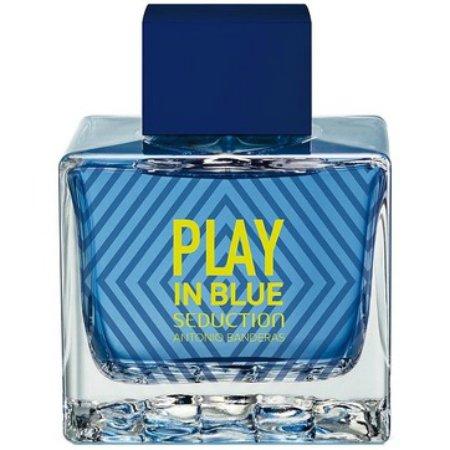 Play In Blue Seduction For MenAntonio Banderas<br>Год выпуска: 2017 Производство: Испания Семейство: древесные пряные Верхние ноты:  Дыня, Цитрусы, Бергамот Средние ноты:  мускатный орех, Мята, кардамон Базовые ноты:  Мускус, Мох, Серая амбра, сандал, Белый кедр Play In Blue Seduction For Men от Antonio Banderas - это аромат для мужчин, принадлежит к группе ароматов древесные пряные. Этот аромат, Play In Blue Seduction For Men выпущен в 2017 году. Верхние ноты: Дыня, Цитрусы и Бергамот; ноты сердца: Мускатный орех, Мята и Кардамон; ноты базы: Мускус, Мох, Серая амбра, Сандал и Белый кедр.  <br><br>Линейка: Play In Blue Seduction For Men<br>Объем мл: 100<br>Пол: Мужской<br>Аромат: древесные пряные<br>Ноты: Дыня, Цитрусы, Бергамот,  мускатный орех, Мята, кардамон,  Мускус, Мох, Серая амбра, сандал, Белый кедр<br>Тип: туалетная вода-тестер<br>Тестер: да