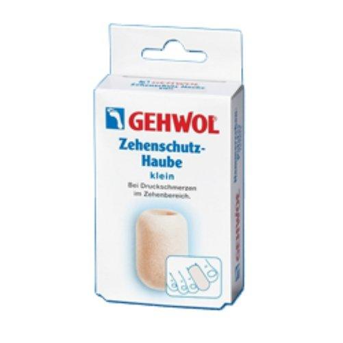Zehenschutz-Haube kleinGehwol<br>Производство: Германия &amp;nbsp;&amp;nbsp;Колпачок для пальцев защитный Геволь (Gehwol Zehenschutz-Haube) изготовлен из мягкого пенообразного материала, плотно прилегает к коже. Эффективно защищает от надавливания мозоли, натертостей и костных наростов. Рекомендуется использовать для защиты от давления на кончик пальца при вросшем ногте. Назначение: защищает от воздействия мозолей, натертостей и костных наростов. Количество в упаковке: 2 шт. в картонной упаковке (малый размер).&amp;nbsp;<br><br>Линейка: Zehenschutz-Haube klein<br>Объем мл: 2 (шт)<br>Пол: Унисекс