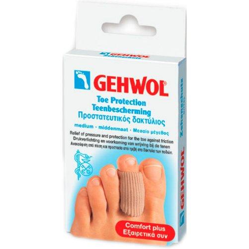 Toe Protection CapGehwol<br>Производство: Германия &amp;nbsp;Эластичное кольцо на палец Геволь (Gehwol Toe Protection Cap) &amp;nbsp;защищает чувствительные участки кожи между пальцев ног, а также натертые и проблемные зоны. Рекомендуется использовать для защиты от образования мозолей и натертостей из-за неправильного положения искривленных пальцев в обуви. Благодаря толщине всего в 2 мм удобно подходит для ежедневного использования в любой обуви. Назначение: для защиты средней части стопы от трения и давления. Количество в упаковке: 2 шт. в картонной упаковке.&amp;nbsp;<br><br>Линейка: Toe Protection Cap<br>Объем мл: 2 маленький (шт)<br>Пол: Унисекс
