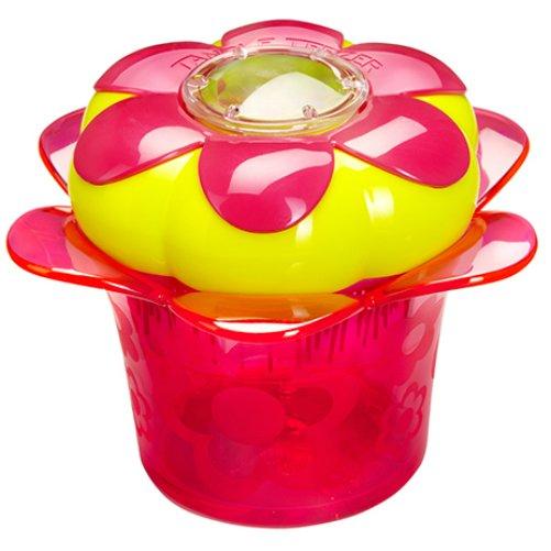 Magic Flowerpot Princess PinkTangle Teezer<br>Производство: Великобритания Magic Flowerpot Princess Pink от Tangle Teezer -  детская модель, созданная для бережного распутывания волос. Больше  никаких слёз! Компактная расчёска с горшочком для хранения аксессуаров:  резиночек, заколок и девичьих секретиков. Мягкая и нежная расчёска  бережно расчесывает волосы без боли. Модель Princess Pink выполнена в  ярко-малиновом цвете и будет радовать маленькую принцессу каждый день!  Расчёска изготовлена из экологически чистого материала и безопасна для  детской кожи. Подходит для использования с 3-х лет.  <br><br>Линейка: Magic Flowerpot Princess Pink<br>Объем мл: (80&amp;#215;80&amp;#215;44мм.)<br>Пол: Унисекс