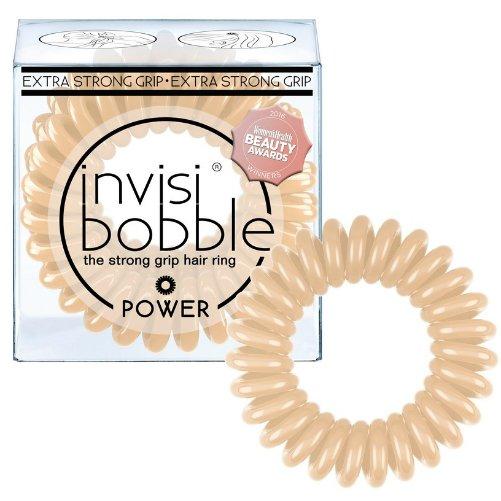 POWER To Be Or Nude To BeInvisibobble<br>Производство: Китай Invisibobble POWER To Be Or Nude To Be - резинка для волос.<br>Цвет: бежевый<br>Материал: искусственная смола<br>Размер: внешний диаметр приблизительно 4 см., внутренний диаметр приблизительно 25 мм.<br>Усовершенствованная  спиралевидная форма резинок-браслетов invisibobble POWER обеспечивает  волосам экстра сильную фиксацию во время занятий спортом. Это надёжный  помощник: резинки не впитывают влагу, их легко снять, не повреждая и не  запутывая волосы.<br>- Резиночка invisibobble устроена так, что не повреждает волосы;<br>- Не оставляет следов перегиба на ваших волосах после применения;<br>- Удобство использования при занятиях спортом или на отдыхе;<br>- Резинка водоотталкивающая, легко снимается/надевается, в то же время крепко держит созданную прическу;<br>- Восстанавливает свою изначальную форму;<br>- Может использоваться как браслет;<br>-  Используя invisibobble не возникнет ощущение головной боли, потому что  она не тянет за собой отдельные волоски благодаря своей оригинальной  форме<br>Подходит для всех типов волос.  <br><br>Линейка: POWER To Be Or Nude To Be<br>Объем мл: 3 (шт.)<br>Пол: Унисекс