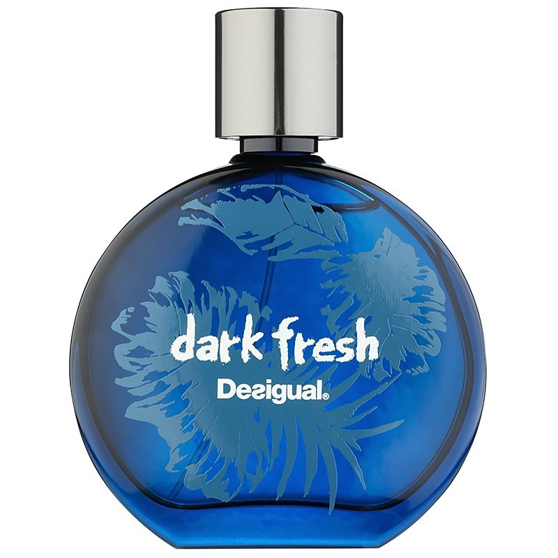 Dark FreshDesigual<br>Год выпуска: 2015 Производство: Испания Семейство: фужерные фруктовые Верхние ноты:  Цитрусы, Нероли, Морские ноты, зеленые ноты, Специи Средние ноты:  Цветочные ноты, апельсин Базовые ноты:  древесные ноты, Мускус,  Амбра, Мох, Ваниль Dark Fresh Desigual - это аромат для мужчин, принадлежит к группе ароматов фужерные фруктовые. Это новый аромат, Dark Fresh выпущен в 2015. Верхние ноты: Цитрусы, Нероли, Морские ноты, Зеленые ноты и Специи; ноты сердца: Цветочные ноты и Апельсин; ноты базы: Древесные ноты, Мускус, Амбра, Мох и Ваниль.<br><br>Линейка: Dark Fresh<br>Объем мл: 50<br>Пол: Мужской<br>Аромат: фужерные фруктовые<br>Ноты: Цитрусы, Нероли, Морские ноты, зеленые ноты, Специи,  Цветочные ноты, апельсин,  древесные ноты, Мускус,  Амбра, Мох, Ваниль<br>Тип: туалетная вода<br>Тестер: нет