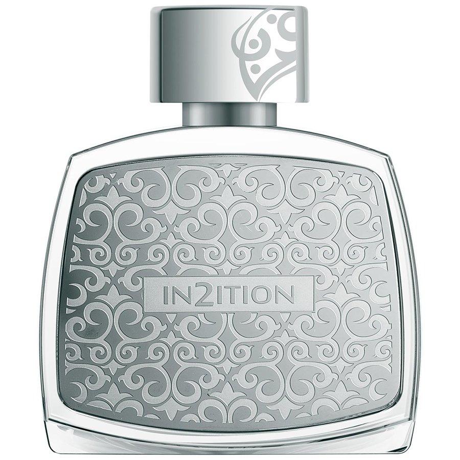 In2ition HommeAfnan Perfumes<br>Производство: Объединённые Арабские Эмираты Семейство: восточные Верхние ноты:  Мускус, древесные ноты,  Амбра Средние ноты:  Ирис, пудровые ноты Базовые ноты:  Жасмин In2ition Homme &amp;nbsp;- элегантный, стильный и глубокий по звучанию мужской восточный парфюм, выпущенный известным арабским парфюмерным домом Afnan. Аромат заключен в роскошный хрустальный флакон с серебристыми металлическими накладками с выгравированным на них классическим арабским орнаментом и названием парфюма. Аромат начинает звучание с неожиданного древесного аккорда, окутанного тонкой, мерцающей мускусно-амбровой дымкой. В сердце композиции звучит пряно-древесный, с легкими землистыми оттенками запах корня ириса. Легкая, почти призрачная кисея пудровых нот придает сердечному аккорду особую красоту звучания. Отзвучав, удивительный парфюм оставляет после себя неожиданное послевкусие из легких, едва обозначенных терковато-пряных ноток жасмина.<br>&amp;nbsp;<br><br>Линейка: In2ition Homme<br>Объем мл: 80<br>Пол: Мужской<br>Аромат: восточные<br>Ноты: Мускус, древесные ноты,  Амбра,  Ирис, пудровые ноты,  Жасмин<br>Тип: парфюмерная вода<br>Тестер: нет