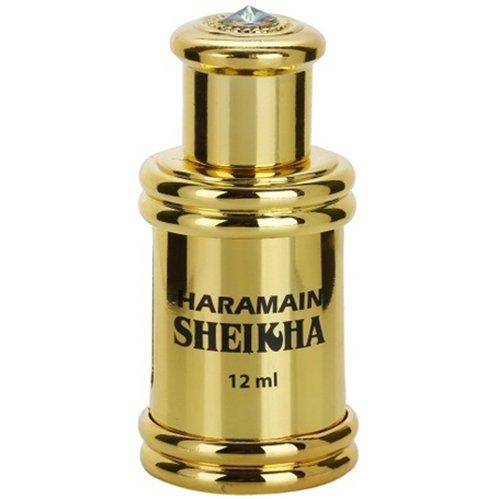SheikhaAl Haramain Perfumes<br>Производство: Объединённые Арабские Эмираты Семейство: восточные цветочные Верхние ноты:  Сандал,  Амбра, Мускус, Герань, Ландыш, груша, Лимон, Роза, Белый кедр, уд, Сосна Sheika Al Haramain Perfumes &amp;mdash; это аромат для мужчин и женщин, он принадлежит к группе восточные цветочные. Композиция аромата включает ноты: Сандал, Амбра, Мускус, Герань, Ландыш, Груша, Лимон, Роза, Белый кедр, Уд и Сосна.&amp;nbsp;<br><br>Линейка: Sheikha<br>Объем мл: 12<br>Пол: Унисекс<br>Аромат: восточные цветочные<br>Ноты: Сандал,  Амбра, Мускус, Герань, Ландыш, груша, Лимон, Роза, Белый кедр, уд, Сосна<br>Тип: масляные духи<br>Тестер: нет