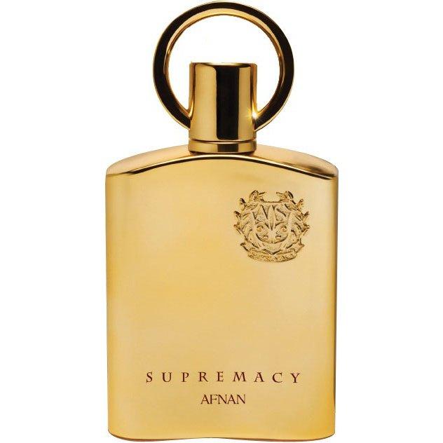 Supremacy GoldAfnan Perfumes<br>Год выпуска: 2013 Производство: Объединённые Арабские Эмираты Семейство: восточные Верхние ноты:  Фиалка, Персиковый цвет, Тмин, мускатный орех Средние ноты:  Пачули, Ирис Базовые ноты:  Ваниль,  Амбра, Бензоин, Уд Supremacy Gold Afnan Perfumes &amp;mdash; это аромат для мужчин и женщин, он принадлежит к группе восточные. Supremacy Gold выпущен в 2013 году. Верхние ноты: Фиалка, Персиковый цвет, Тмин и Мускатный орех; средние ноты: Пачули и Ирис; базовые ноты: Амбра, Ваниль, Бензоин и Уд.<br><br>Линейка: Supremacy Gold<br>Объем мл: 100<br>Пол: Унисекс<br>Аромат: восточные<br>Ноты: Фиалка, Персиковый цвет, Тмин, мускатный орех,  Пачули, Ирис,  Ваниль,  Амбра, Бензоин, Уд<br>Тип: парфюмерная вода<br>Тестер: нет
