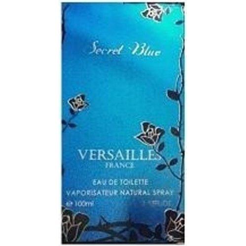 Secret BlueParfums du Chateau de Versailles<br>Производство: Великобритания Дом Versailles приглашает в воображаемое путешествие по садам и паркам Версаля эпохи &amp;laquo;Короля-Солнце&amp;raquo;. Аккуратно постриженные зелёные газоны, роскошные клумбы и цветущие кустарники - Secret Blue передает всё буйство и великолепие красок. Оттенки синей гаммы, выбранные для Secret Blue, воплощают лазурное небо и самые разнообразные цветы, которые можно встретить в версальских садах&amp;hellip;<br>&amp;nbsp;<br><br>Линейка: Secret Blue<br>Объем мл: 100<br>Пол: Женский